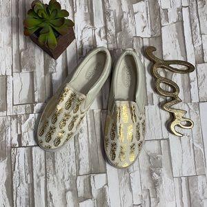 Bucketfeet Pineappleade Slip on Loafers